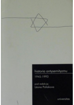 Historia antysemityzmu 1945  1993