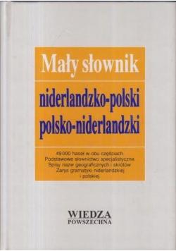 Mały słownik niderlandzko polski polsko niderlandzki