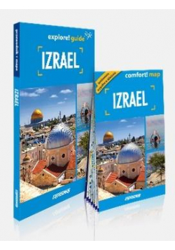 Explore! guide light Izrael (przewodnik + mapa)