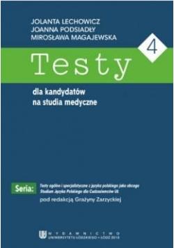 Testy dla kandydatów na studia medyczne