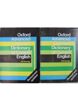 Oxford Advanced Learners Dictionary of Current English Tom I i II