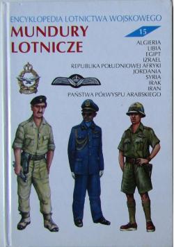 Mundury lotnicze Encyklopedia Lotnictwa Wojskowego Nr 15