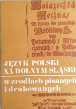 Język polski na Dolnym Śląsku