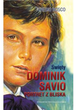 Święty Dominik Savio Portret z bliska