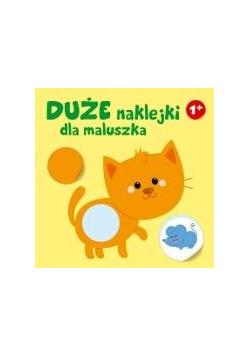 Duże naklejki dla maluszka - kotek 1+