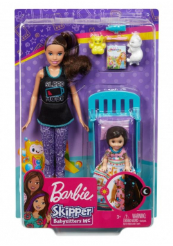 Barbie Zestaw opiekunka GHV88