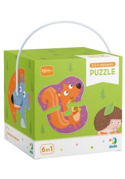 Puzzle 2-3-4 Zwierzęta leśne