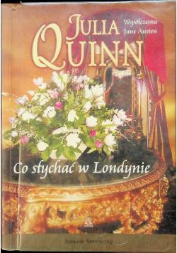 Współczesna Jane Austen Co słychać w Londynie