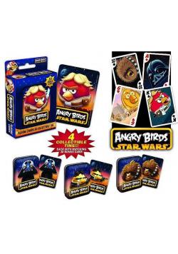 Angry Birds Star Wars Karty w met. puszce 4 wzory