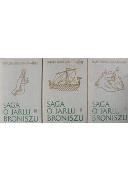 Saga o Jarlu Broniszu 3 tomy