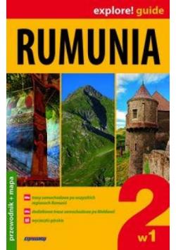 Rumunia 2w1 Przewodnik z mapą