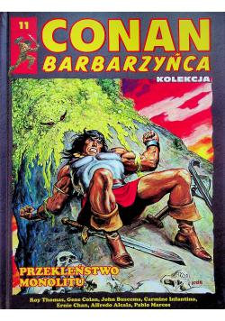 Conan barbarzyńca 11 Przekleństwo Monolitu