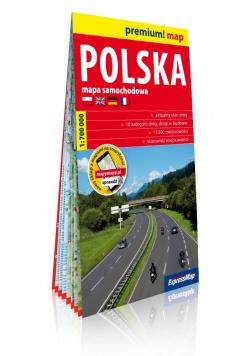 Premium! map Polska 1:700 000 mapa w.2019