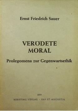 Verodete moral