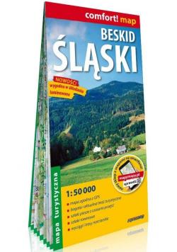 Comfort! map Beskid Śląski lam. mapa tur. w.2