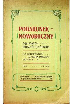 Podarunek noworoczny dla matek chrześcijańskich 1903 r.