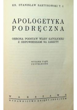 Apologetyka Podręczna 1939 r.