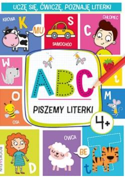 ABC. Piszemy literki