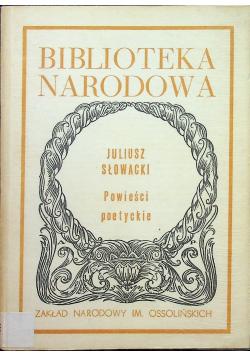 Słowacki Powieści poetyckie
