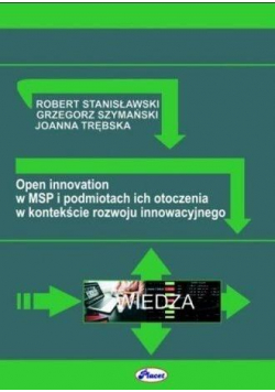 Open innovation w MSP i podmiotach ich otoczenia