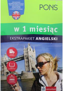 Ekstrapakiet Angielski w 1 miesiąc