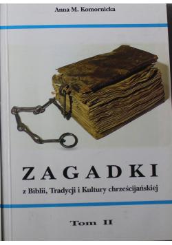 Zagadki z Biblii Tradycji i Kultury chrześcijańskiej