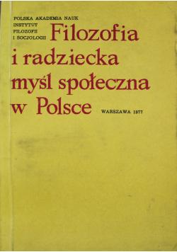 Filozofia i radziecka myśl społeczna w Polsce