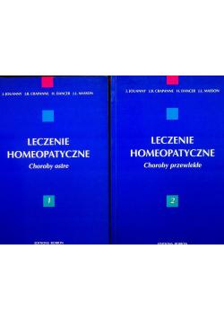 Leczenie homeopatyczne Tom I i II