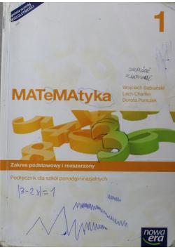 Matematyka 1 Podręcznik Zakres podstawowy i rozszerzony