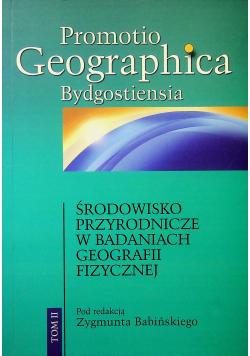 Środowisko przyrodnicze w badaniach geografii fizycznej tom II