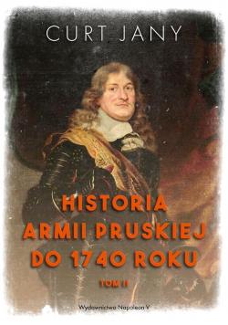 Historia armii pruskiej do 1740 roku T.2