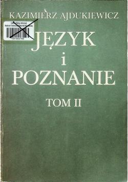Język i poznanie Tom II
