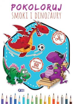 Pokoloruj Smoki i Dinozaury