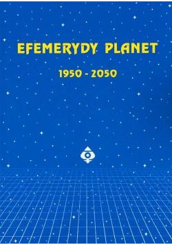 Efemerydy planet 1950-2050