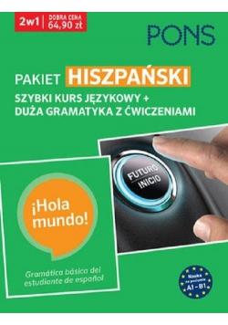 Pakiet: Hiszpański 2w1 Kurs + gramatyka PONS