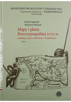 Mapy i plany Rzeczypospolitej XVII w znajdujące się w archiwach w Sztokholmie 2 tomy Nowa