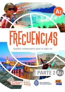 Frecuencias A2.2 podręcznik cz.2 + online