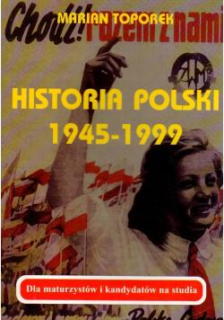 Historia Polski 1945 1999