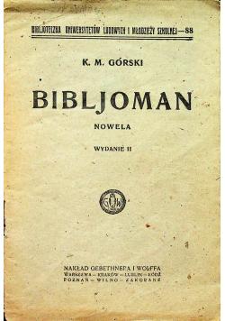 Bibljoman 1925 r.