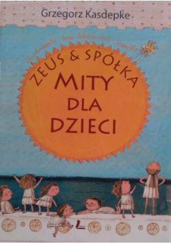 Zeus i spółka Mity dla dzieci