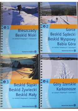 Pomysł na narciarską przygodę 4 tomy