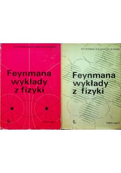 Feynmana wykłady z fizyki Tom II Część I i II