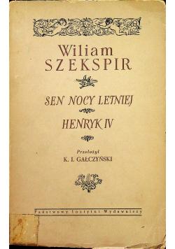 Sen nocy letniej/ Henryk IV