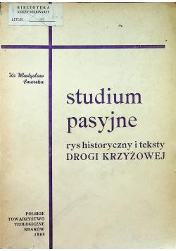 Studium pasyjne rys historyczny i teksty drogi krzyżowej