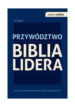 Samo Sedno - Biblia lidera. Przywództwo EDGARD