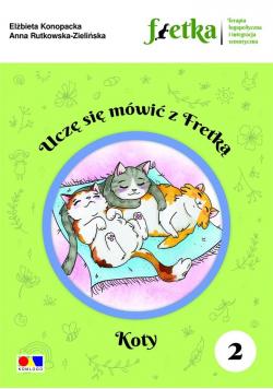 Uczę się mówić z Fretką cz.2 Koty