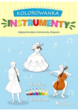 Kolorowanka instrumenty