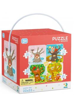 Puzzle 4w1 Pory roku