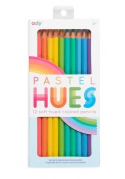 Kredki ołówkowe pastelowe Pastel Hues 12 kolorów