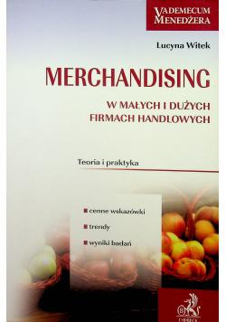 Merchandising w małych i dużych firmach handlowych